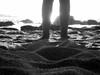 my feet on the sand... [29/52] (...storrao...) Tags: sunset bw feet beach portugal sand sony porto matosinhos lavra week29 sooc project52 praiadaagudela storrao sofiatorrão