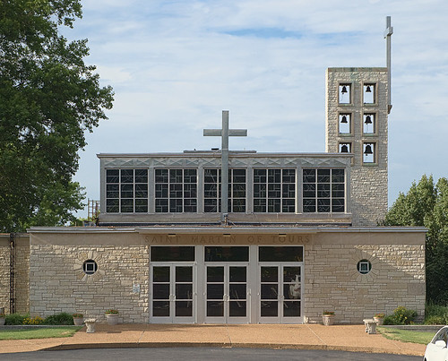 Saint Martin of Tours Roman Catholic Church, in Lemay, Missouri, USA - exterior