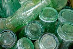 Coke bottles (photographyguy) Tags: green glass cola bottles soda cokebottles jeffersontx