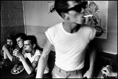 %22Brooklyn Gang%22 by Bruce Davidson - 4