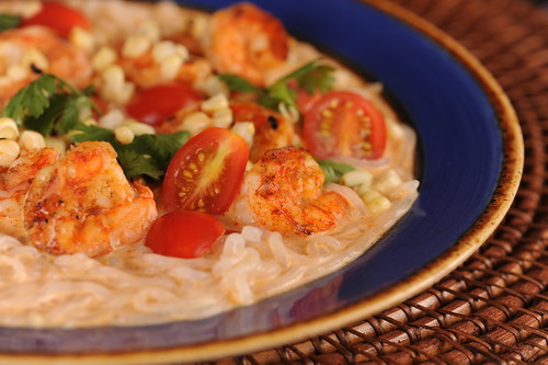 Grilled Shrimp Thai Coconut Curry Summer Soup