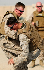 Marines take part in martial arts training in ...