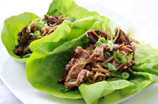 Moo Shu Pork Lettece Wraps