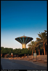 Tower Al-Riyadh -   (Safwan Babtain -  ) Tags: tower lens nikon with 1855mm nikkor  safwan d60      alriyadh  babtain