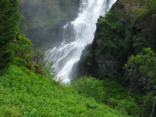 Incredible Waterfall - Fjords, Norway
