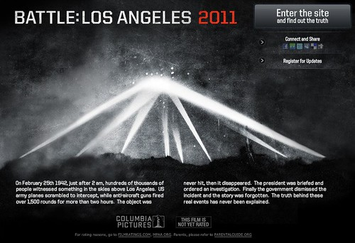 franklin avenue the tease campaign for battle los angeles