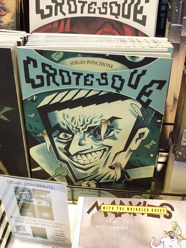 Comic-Con 2010 debut: Grotesque #4 by Sergio Ponchione