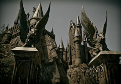 The Wizarding World of Harry Potter: Forbidden Journey (Scott Smith (SRisonS)) Tags: new school castle islands orlando ride florida gates resort adventure universal studios hogwarts witchcraft ioa wizardry wizardingworldofharrypotter forbiddenjourney wwohp