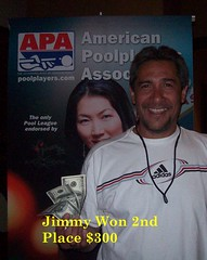 Wildwood Casino Cripple Creek, CO Pool Tournament - Jimmy 2nd place $300 - 7-12-10 (Wildwood Casino) Tags: pool creek colorado casino tournament co cripple wildwood winners