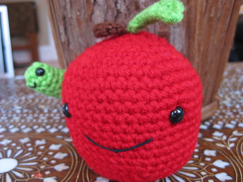 Apple Amigurumi