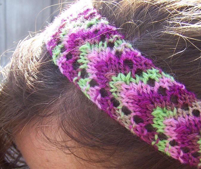 Smidge Headband Knit Run, Purl Run
