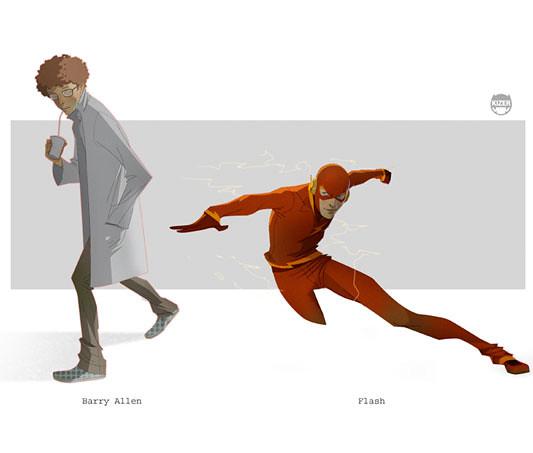 Kizer,  Flash - Barry Allen