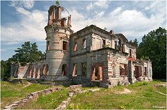 The Palace of Tereshchenko /    (OleksiyM) Tags: trip travel light vacation sky building castle heritage history nature architecture construction arquitectura nikon europe day ruin ukraine castello castillo ua worldheritage d300 zamek historicalsites      oekrane  flickraward ukrainie denyshi flickrestrellas    tereshchenko terestchenko