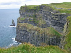 Cliffs Of Moher 2010 (Conor Byrne Photography) Tags: world wild birds clare windy tourists cliffs visitors moher wonders