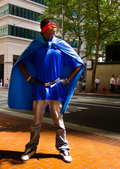 Downtown Superhero