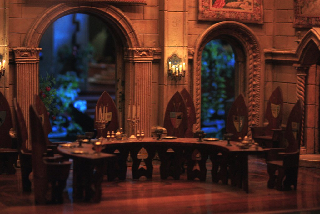 Fairy Castle: Dining Room