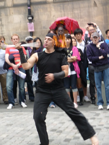 Street Entertainer, Royal Mile