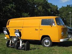 Bulli, de volkswagen T2 en onze Segways