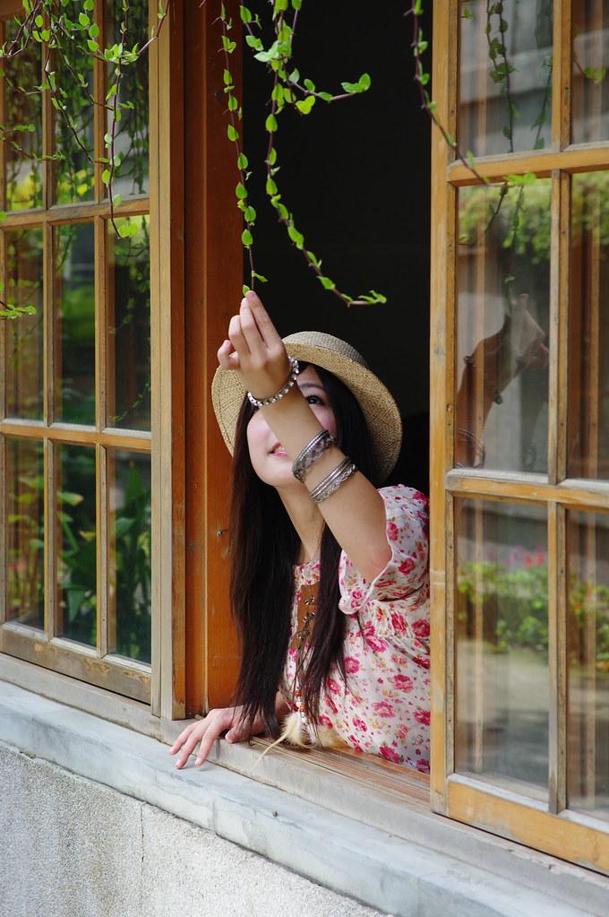 華山外拍--Angelia 繳作業.....了