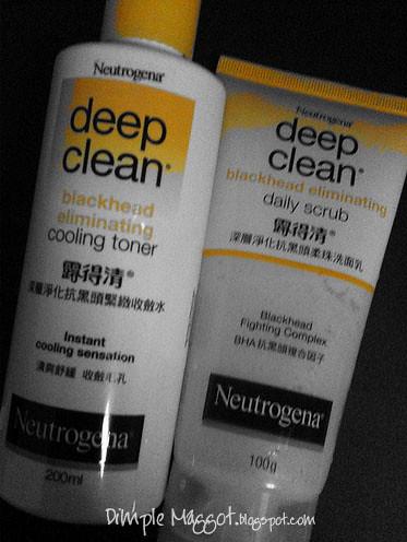 Neutrogena Blackhead Face Wash