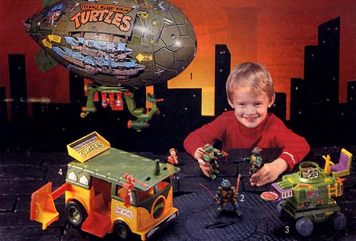 Teenage Mutant Ninja Turtles Sears 1989