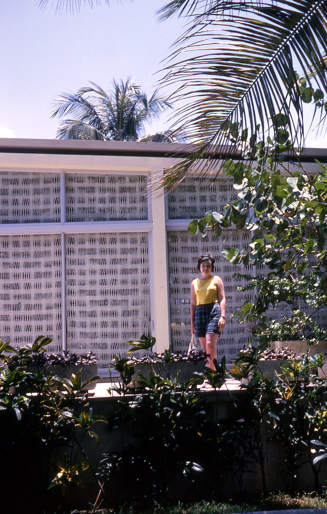 Mom at the Dorado Beach Hotel