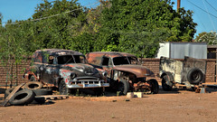 The Cool Stuff We See on Our Walks In HDR (eoscatchlight) Tags: arizona abandoned rust rusty rusted scottsdale oldcars hdr rustyandcrusty panelwagon