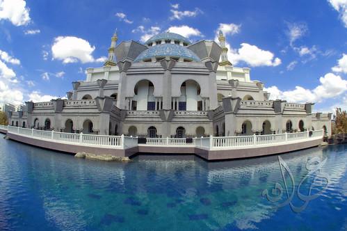 Masjid Wilayah Persekutuan (Fisheye effect)