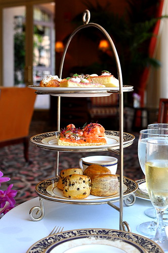 Chocolate Afternoon Tea at The Langham - Pasadena