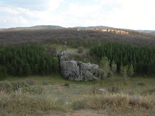 DSCN0967 Hattusas, vue depuis la Yerkapi