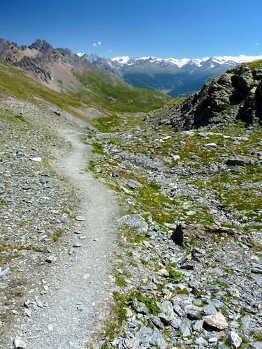 Sentiero 130 verso Lago Nero