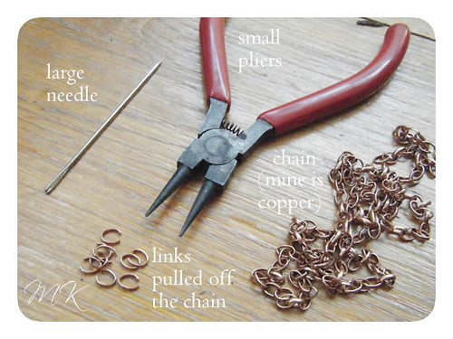 Leather Leaf Necklace Tutorial 3