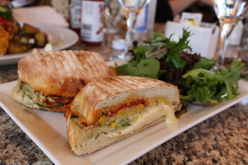 Cafe Memosa- Roasted Vegetable Panini