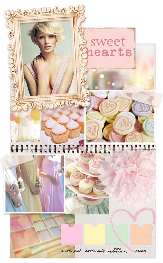 sweet hearts scrapbook inspiration