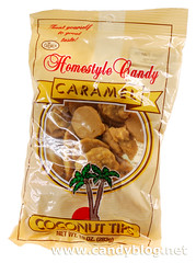Crown Homestyle Candy Caramel Coconut Tips