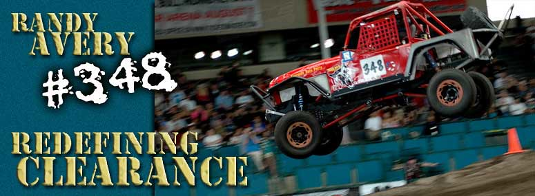 Randy Avery Redefining Clearance Arena Racing With Jeep Tube Fenders
