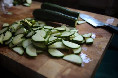 zucchini choppage