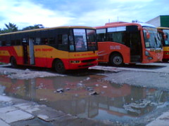 Roval Transport (Bus Ticket Collector III; Opera Mini ) Tags: bus philippines santarosa partex nissandiesel pbpa exfoh rovaltransport malandaymetrolink philippinebusphotographersassociation