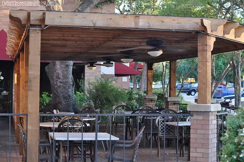Terrace @ Brick Oven ~ Austin, TX