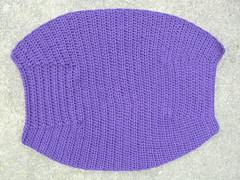 Fat Bag for my friend's wife (crochetbug13) Tags: purple cascade220 fatbag