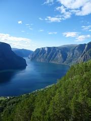 Aurlandsfjord (MargrietPurmerend) Tags: summer norway norge zomer flamsbana noorwegen sognefjorden aurlandsfjorden naeroyfjorden aurlandsvangen