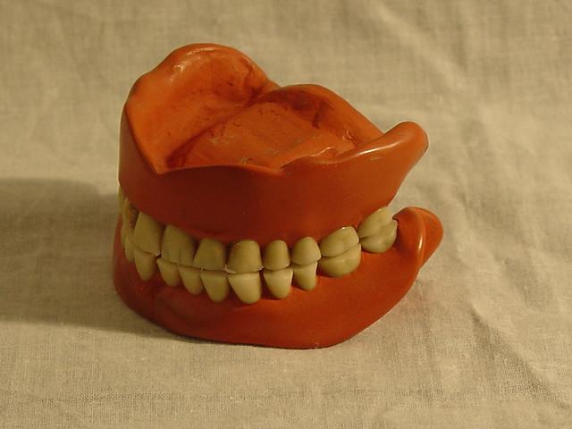 M-500.00055 General Pershing's dentures