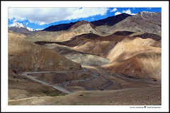 Highest Motorable Road In the World | Ladakh (sasiharshav) Tags: world road canon landscape is 1855 leh ladakh highest in 500d motorable ladakhtrip
