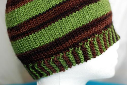 Elizabeth Zimmermann Sideways Garter Stitch Border Cook. Knit. Paint.