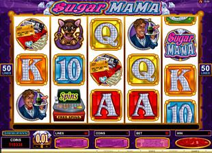 Sugar Mama slot game online review