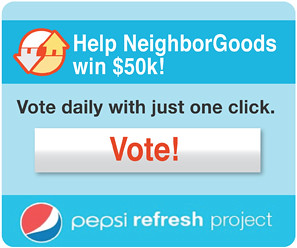 Vote for us once a day through August!