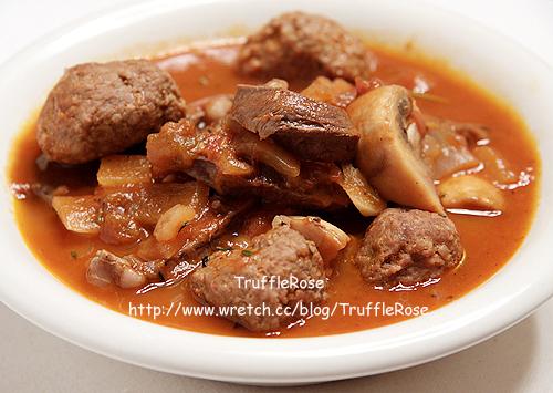 燉肉丸和小牛心-France-100522