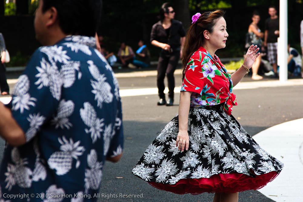 Dancer at Yoyogi Park @ Tokyo, Japan