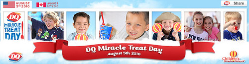Dairy Queen's Miracle Treat Day is August 5, 2010!