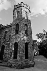 Winnekeni Castle (Boneil Photography) Tags: blackandwhite bw castle film 35mm canon ma eos prime sigma eos5 a2 haverhill primelens fujifilm200 20mmf18 fixedfocallength winnekeni boneilphotography brendanoneil